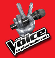 Logo de l'émission de TF1 The Voice